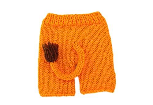 Imagen de deley unisex bebé león disfraz infantil ropa traje de fotografía props crochet sombrero de punto pantalones set 0 6 meses alternativa