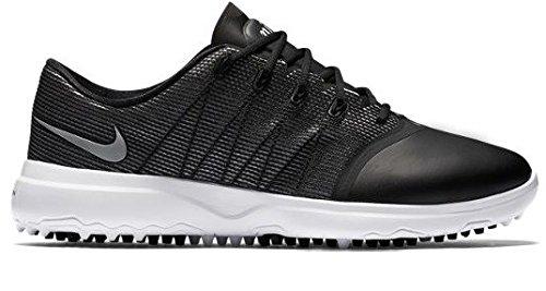 Nike Lunar Empress 2, Chaussures de Golf Femme, Noir (Black/Metallic Silver/White), 39 EU