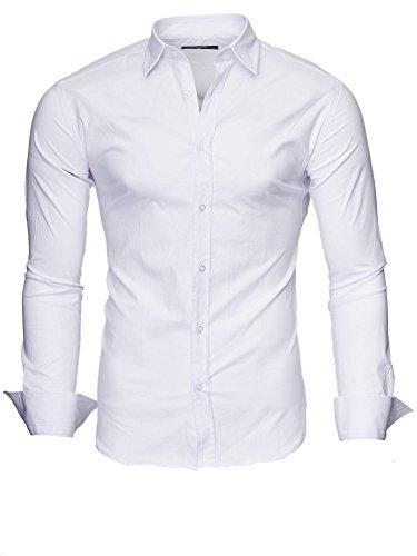 Kayhan Men´s long Sleeve Shirt Easy Iron, Slim Fit comfortable fabric Type Plain 2017