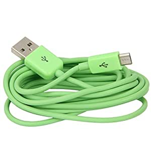 M-STARK Samsung Galaxy J7 (2016) COMPATIBLE USB Data Cable/Charging Cable/Data Sync Cable/Portable Cable/Mobile Charging Cable/Fast Charging Cable (GREEN)