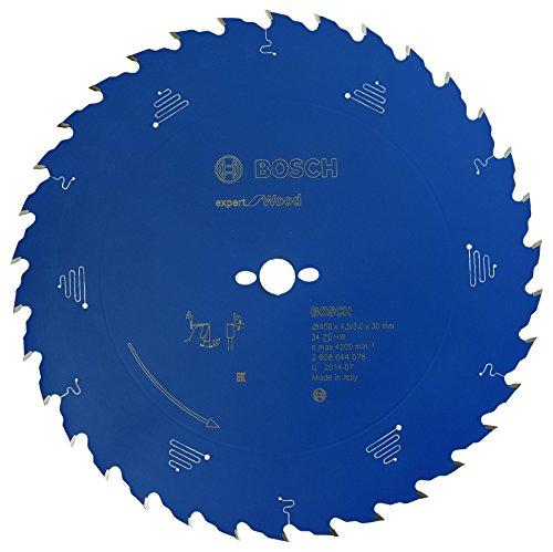 Bosch Professional Kreissägeblatt Expert für Holz, 450 x 30 x 4,5 mm, Zähnezahl 34, 1 Stück, 2608644078