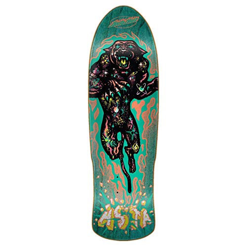 Santa Cruz Multi Asta Cosmic Cat Preissue - 31.88 Inch Skateboard-Deck (One Size, Blau) -