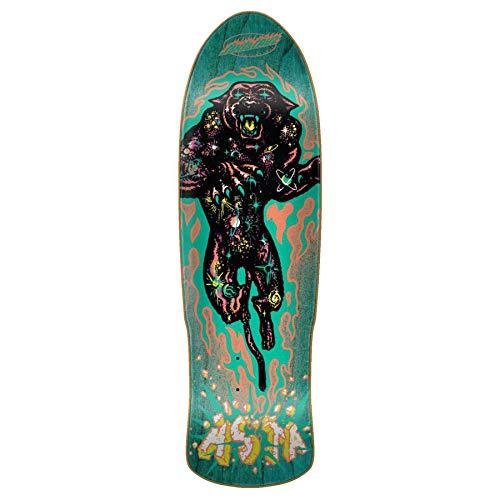 Santa Cruz Multi Asta Cosmic Cat Preissue - 31.88 Inch Skateboard-Deck (One Size, Blau) -