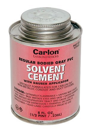 SCSC PVCu / PVC Conduit Solvent Cement 1 X 250ml Tub Supplied With A Brush In The Lid For Easy Application by Deligo