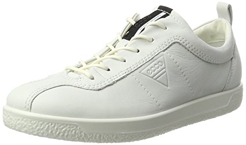 Ecco Damen Soft 1 Sneaker, Weiß (White), 42 EU (8 UK)