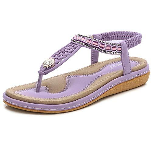 Femmes Dames Cristal Croix avec Tresse Chevilles Toepost Plat Sandales Chaussures Romaines