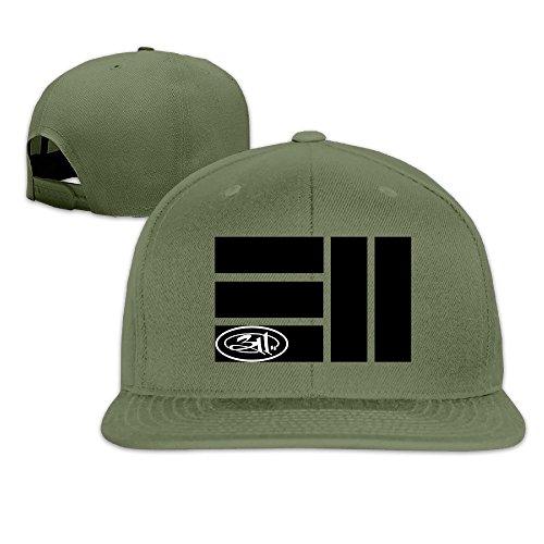 thna-311-band-album-logo-adjustable-fashion-baseball-hat-forestgreen