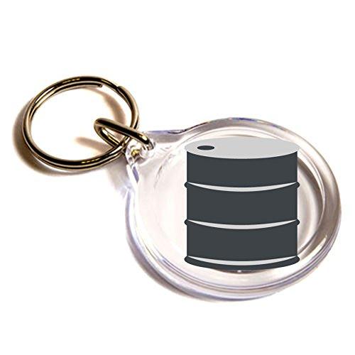 tamburo-olio-emoji-anello-chiave-oil-drum-emoji-key-ring