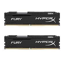 HyperX FURY DDR4 16 GB (Kit 2x8 GB), 2666 MHz CL16 DIMM XMP - HX426C16FB2K2/16, Black
