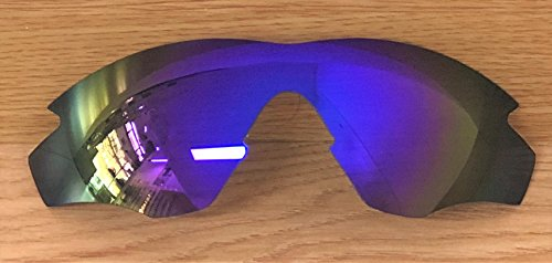 MZM Polarisierte Ersatzgläser für Oakley M2 Frame (wählen Sie die Farbe) (Purple Mirror)