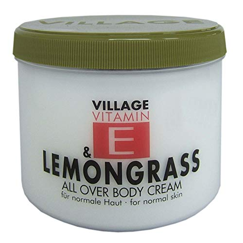 Village Vitamin E & Lemongrass All Over Body Cream,  500 ml
