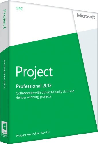 Microsoft Project Professional 2013 - 1PC