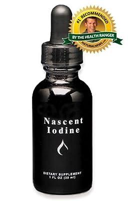 Nascent Iodine 1oz. (2% Strength) : GOOD HEALTH NATURALLY