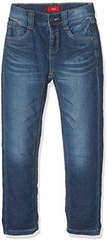 s.Oliver Jungen Jeans 63.709.71.3001 Blau (Blue Denim Stretch 56Z2), 122 (Herstellergröße: 122/SLIM)