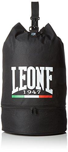Leone 1947 Sacca Sportiva, Nero, Taglia Unica