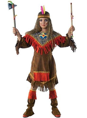 Squawkostüm Indianerin Häuptlingstochter, - Kostüm Herren Lendenschurz