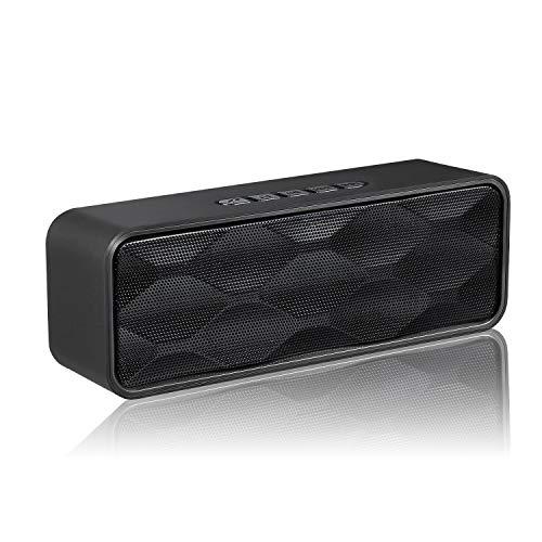 Aigoss Altavoz Bluetooth Inalámbrico Portátil Audio HD y Graves Mejorados, Altavoz de...