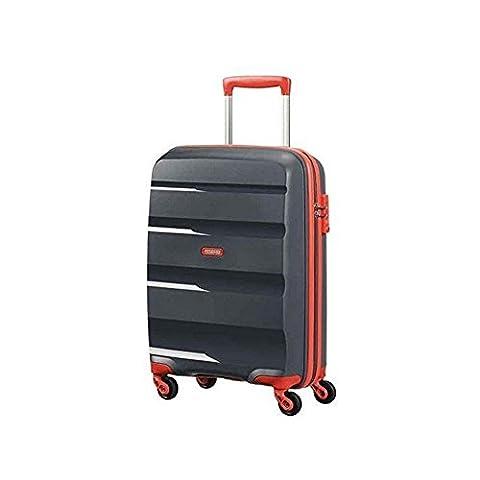American Tourister Bon Air Reisetrolley M grey-orange 57,5 Liter LIMITIERT