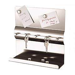 Schlüsselboard in Silber