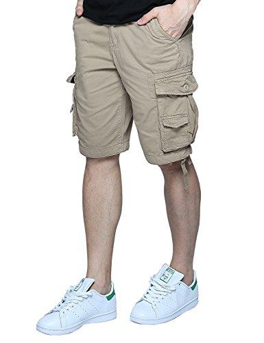 Match Herren Cargo Shorts #S3620 3612 Aprikose