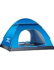 Dooxi 2-3 personnes Camping Tente Dôme Pop-Up Automatique de Famille des Tentes
