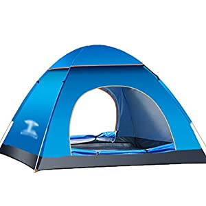 dooxi 3-4 person outdoor family tents camping hiking beach automatic pop up tent with carrying bag