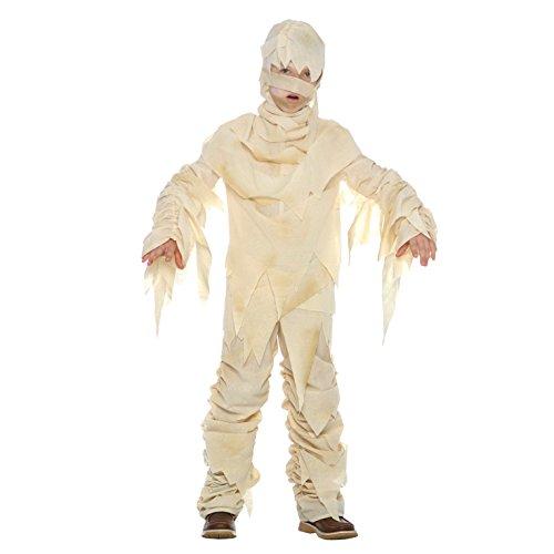 Unbekannt Kinder Ägyptische Mumie Monster Kostüm Parteien und Halloween für Jungen und Mädchen - Groß (9 - 11 Jahre)