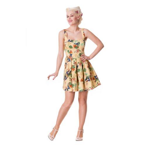 Ligne bunny bECKY mINI robe robe sable Jaune - Sable