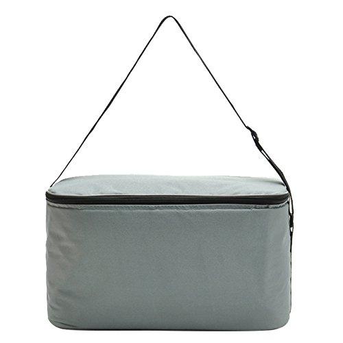 18l große lunchpaket thermo - picknick im freien feld almuerzo handtaschen kühler lagerung portable 1