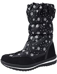 Shenji Scarpe Donna Invernali - Stivali da Neve A Mezza Gamba  Antisdrucciolo H20612 449902d3988