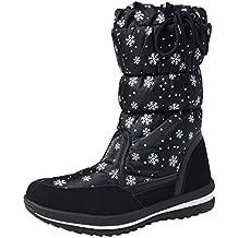 Shenji Scarpe Donna Invernali - Stivali da Neve A Mezza Gamba  Antisdrucciolo H20612 beb0193e559