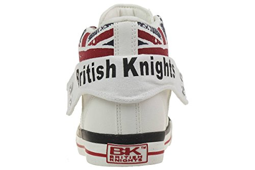 British Knights Roco, Baskets Marche Mixte Bébé Weiß