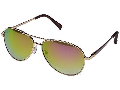 steve-madden-flat-lens-aviator-damen-sonnenbrille-gold