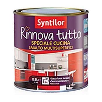 SMALTO RINNOVA TUTTO - 0,5 L - SYNTILOR SPECIALE CUCINA ...