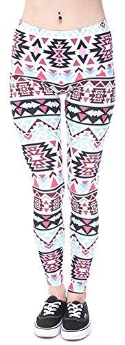 Eazyhurry - Leggings sportivi -  donna Pattern 3