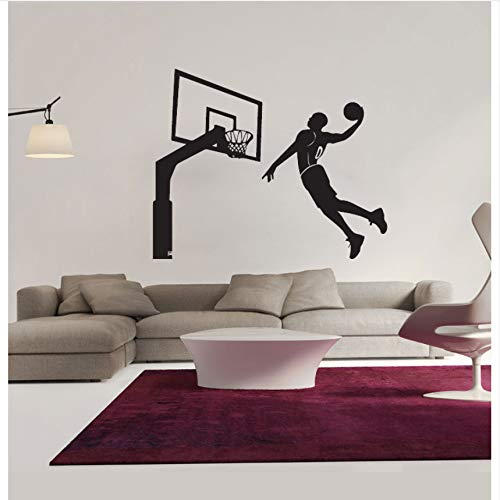 Wuyyii Dekorative Diy Wandaufkleber, Die Basketball-Jungen-Wasserdichte Aufkleber-Dekoration Spielen