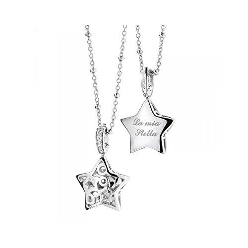 Collana comete donna gla104 argento diamante