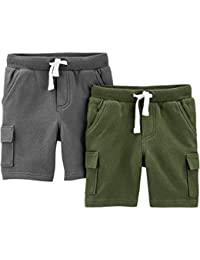 Simple Joys by Carter's 3-Pack Knit Shorts - Infant-and-Toddler-Shorts Bebé-Niños