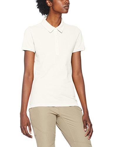 CMP Damen 3T61776 Poloshirt, Bianco, D46