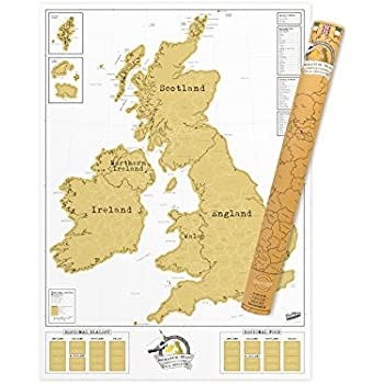 Luckies of london scratch map uk ireland edition personalised luckies of london scratch map uk ireland edition personalised world map poster travel gumiabroncs Gallery