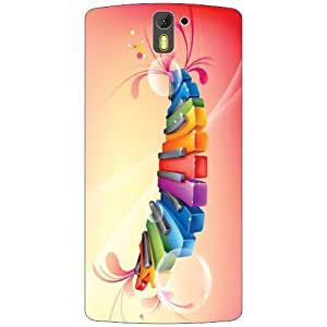 Oneplus One A0001 Back Cover - Music Scales Designer Cases