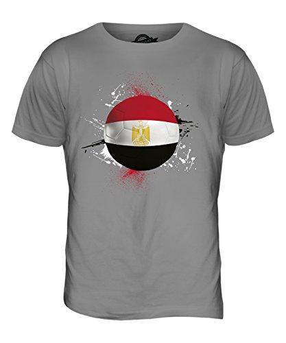 CandyMix Ägypten Fußball Herren T Shirt Hellgrau