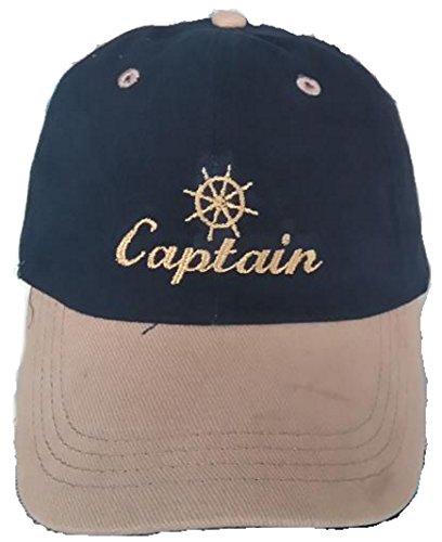 DelmarNautical Captains Cap Kapitäns Mütze Anker Anchor Beanie yacht segeln...