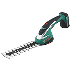 Bosch ASB 10.8 LI Cordless Shrub Shear with Integrated 10.8 V Lithium-Ion Battery