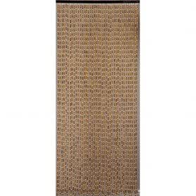 rideau de porte perles olives en bois 90x200 cm cuisine maison. Black Bedroom Furniture Sets. Home Design Ideas