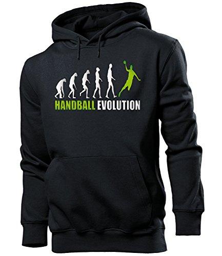 HANDBALL EVOLUTION 742(HKP-SW-Grn) Gr. S Schwarz / Grn