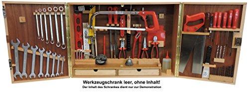 FAMEX 11-M-L-II.W Werkzeugschrank, Holz, mit kleinen Fehlern, leer ohne Werkzeug