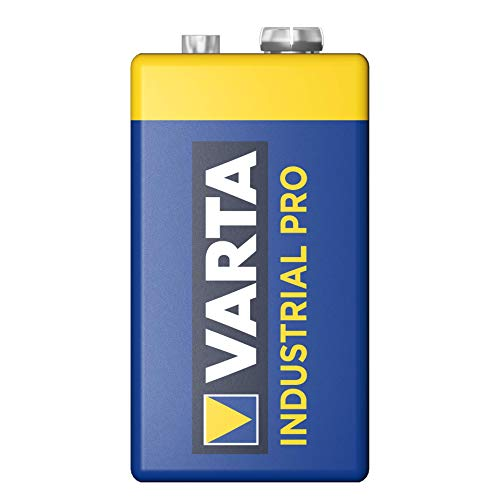 Varta Industrial Batterie 9V Block Alkaline Batterien 6LR61 – 20er pack, Made in Germany - 2
