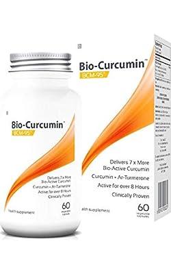 Coyne Healthcare Bio-Curcumin Supplement with Bcm-95 60 Vegetable Capsules