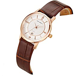 Ladies slim watch/Simple casual female form/Quartz water resistant watch-B